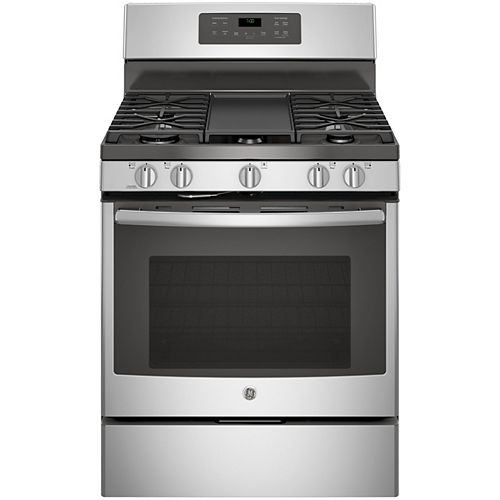 30-inch 5.0 cu. ft. Single Oven Gas Range with Self-Cleaning Convection Oven in Stainless Steel