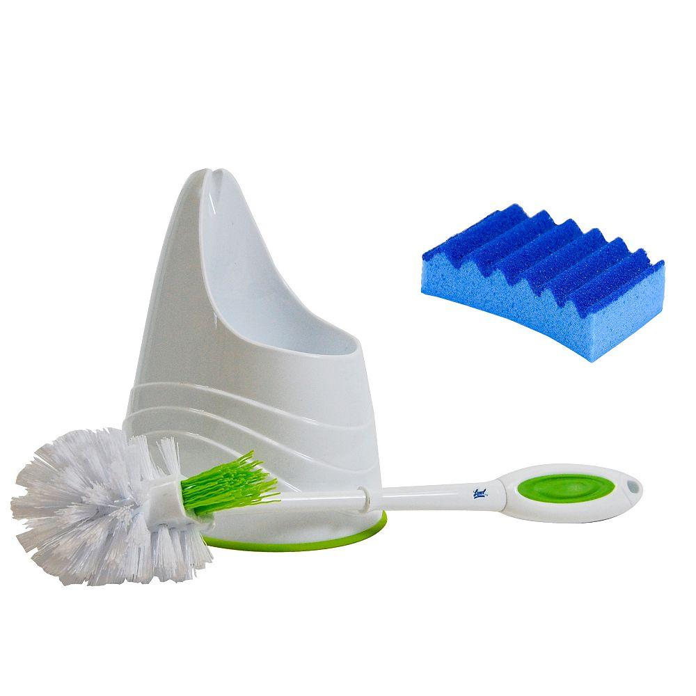 Lysol Bowl Brush Caddy With Bonus Sponge
