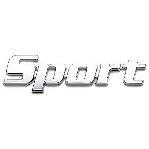 Badgez - Chrome Emblems - Sport