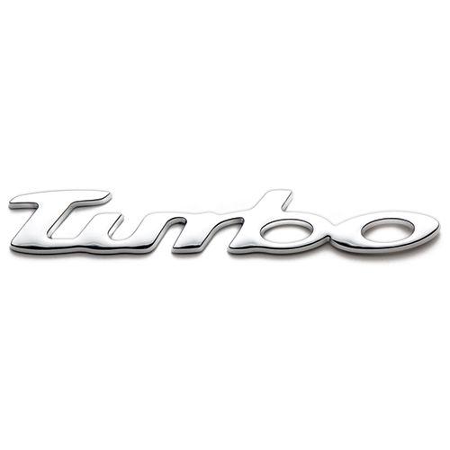 Badgez - Chrome Emblems - Turbo
