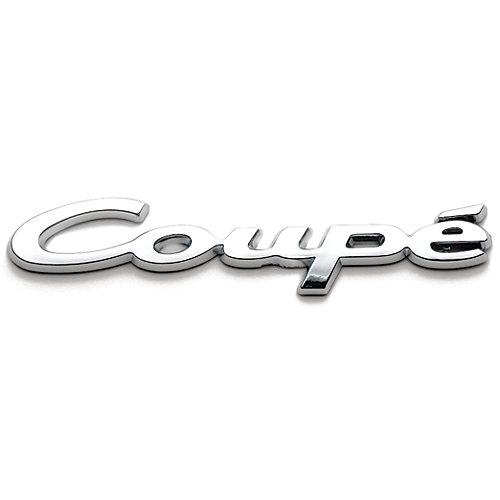 Badgez - Chrome Emblems - Coupe