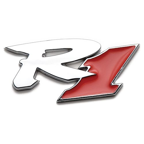 Badgez - Chrome Emblems - R1