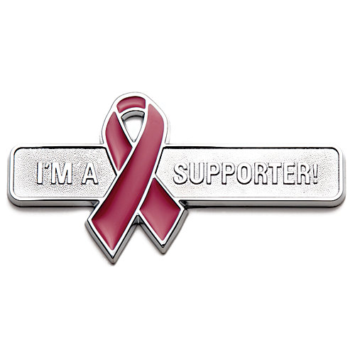 Badgez - Chrome Emblems - Supporter Ribbon