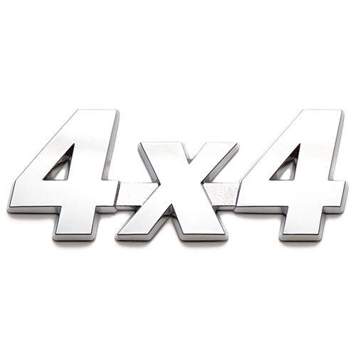 Badgez - Chrome Emblems - 4X4