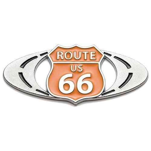 Badgez - Chrome Emblems - Route-66