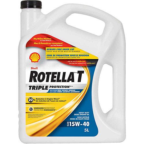 Rotella 15W40 5L Huile Moteur Diesel