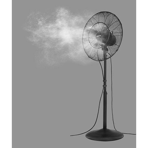 18 Inch. 3-Speed Oscillating Misting Fan