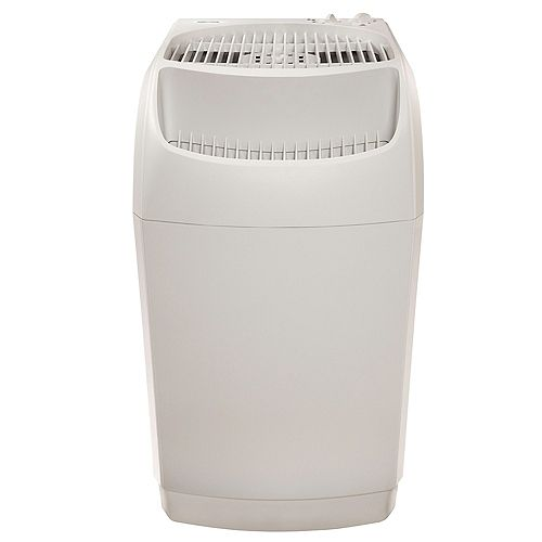 AIRCARE Space Saver Evaporative Humidifier for 2300 sq. ft. White