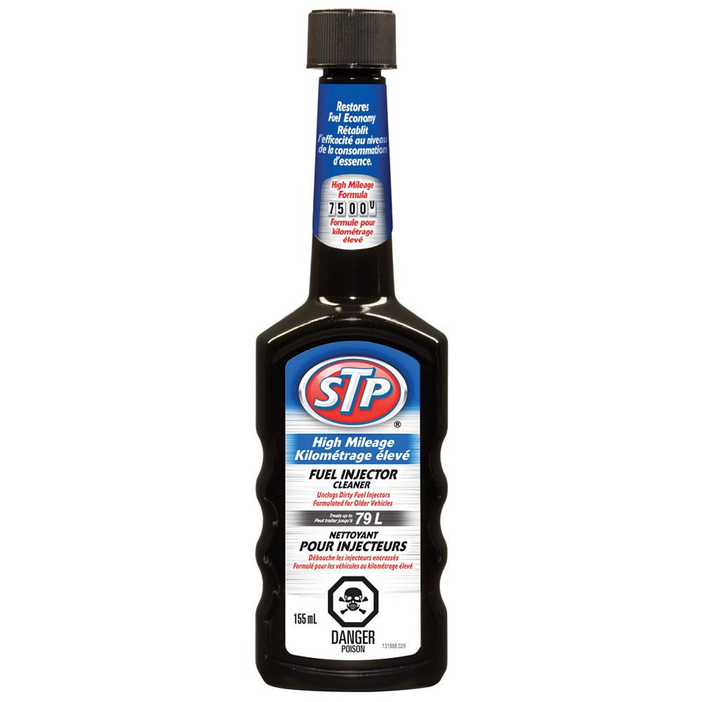 STP High Mileage Fuel Injector Cleaner 12/155mL
