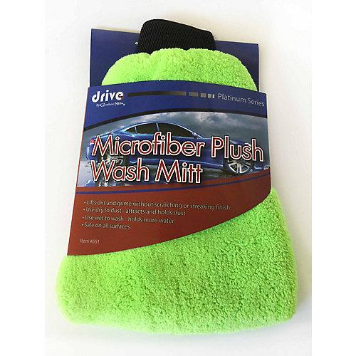Gant de lavage en microfibre