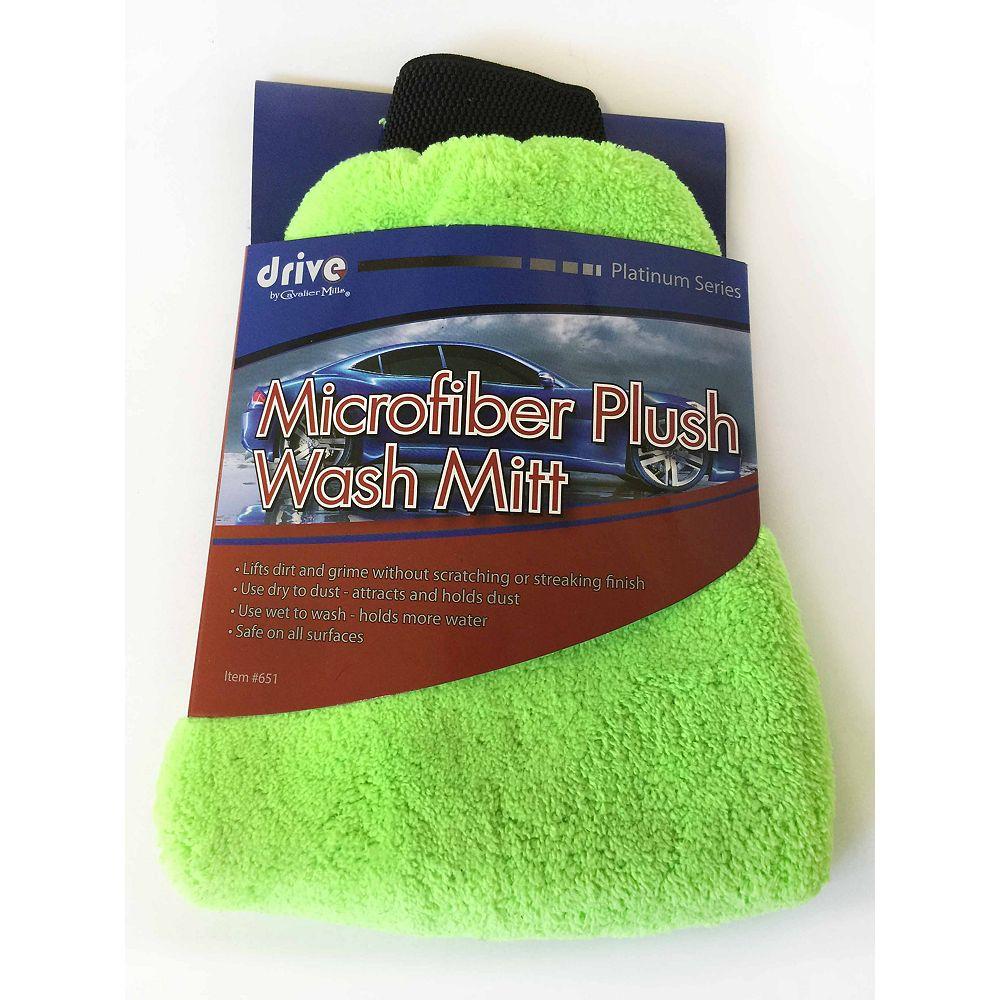 DRIVE Gant de lavage en microfibre