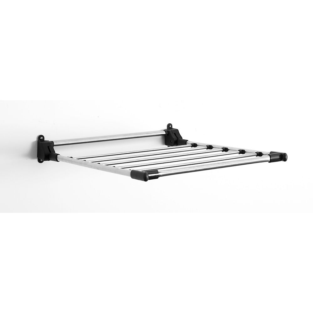 Greenway Wall Mounted Stainless Steel Drying Rack The Home Depot Canada