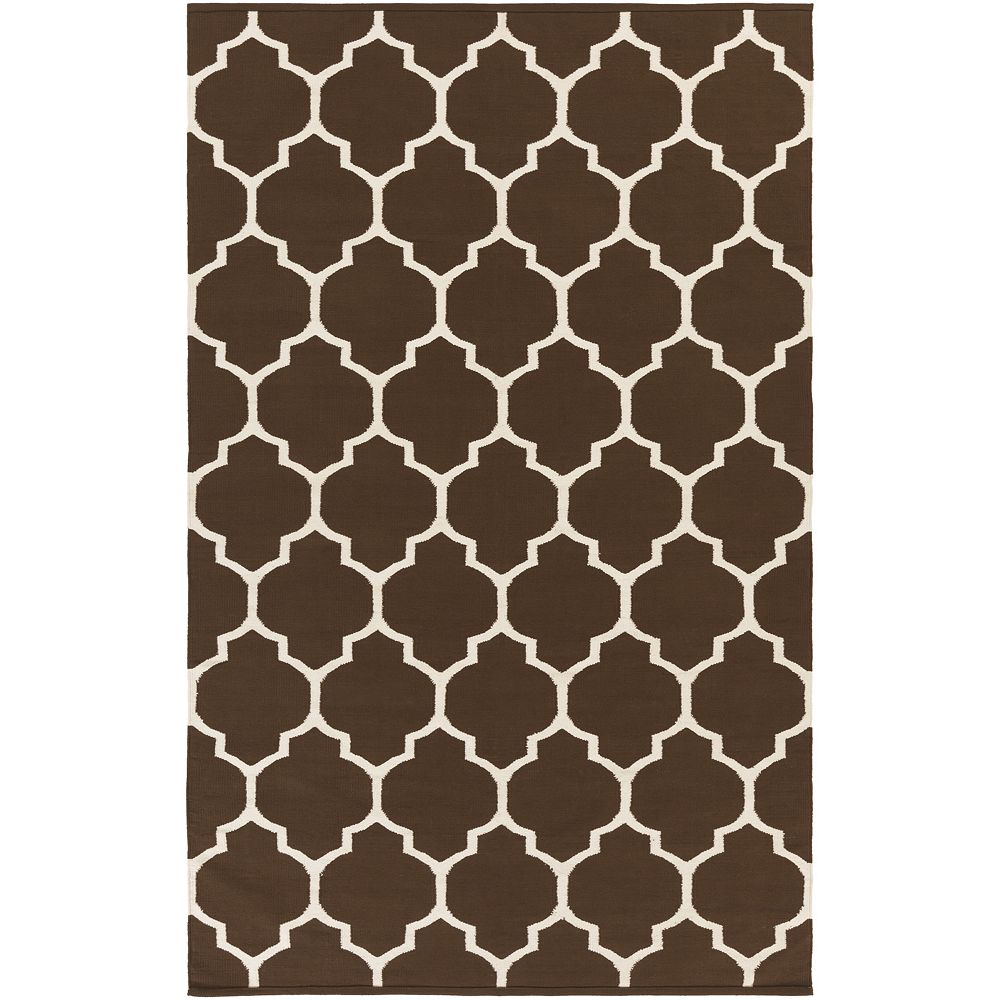 Artistic Weavers Vogue Claire Brown 5 ft. x 8 ft. Indoor Contemporary Rectangular Area Rug