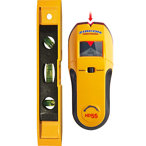 Stud Sensor HD55 Stud Finder with Bonus Level