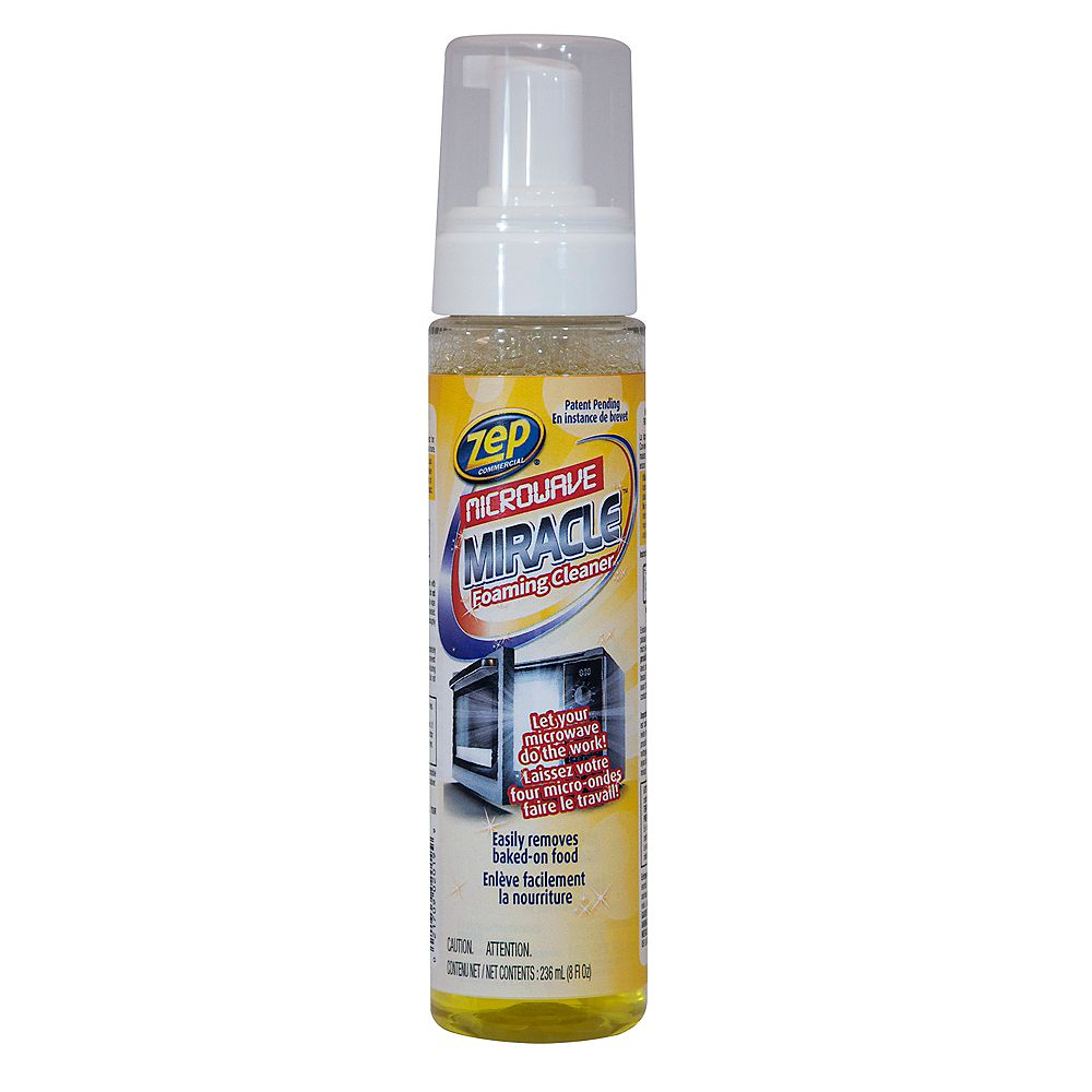 Zep Commercial Microwave Miracle Foaming Cleaner, 236 ml