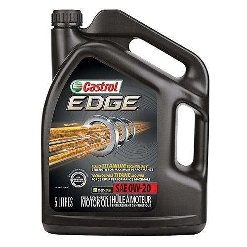 Edge 0w20 5l Syn. Motor Oil