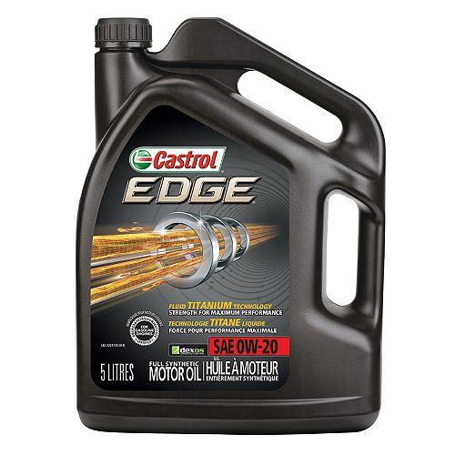 Edge 0w20 5l Syn. Motor Oil