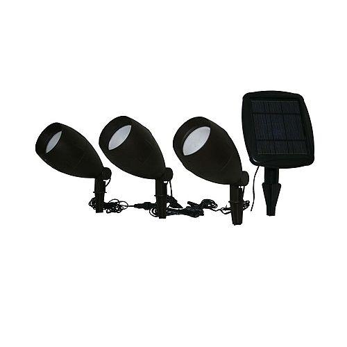 Apollo Triple Solar Spotlight Set