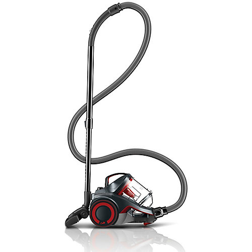 DASH Multi Carpet & Hard Floor Cyclonic Canister Vacuum with SWIPES