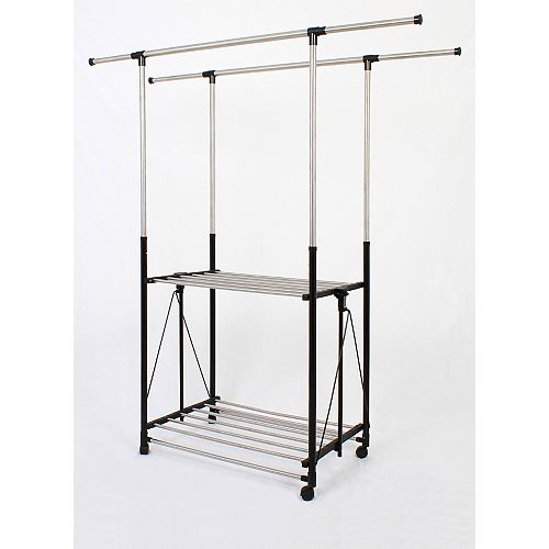 Greenway Collapsible Garment Rack