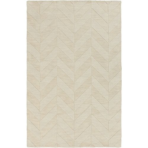Artistic Weavers Central Park Carrie Off-White 3 ft. x 5 ft. Indoor Transitional Rectangular Area Rug