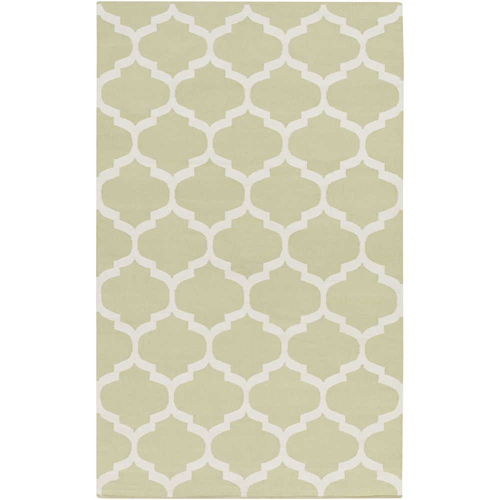 Artistic Weavers Vogue Everly Off-White 8 ft. x 10 ft. Indoor Contemporary Rectangular Area Rug