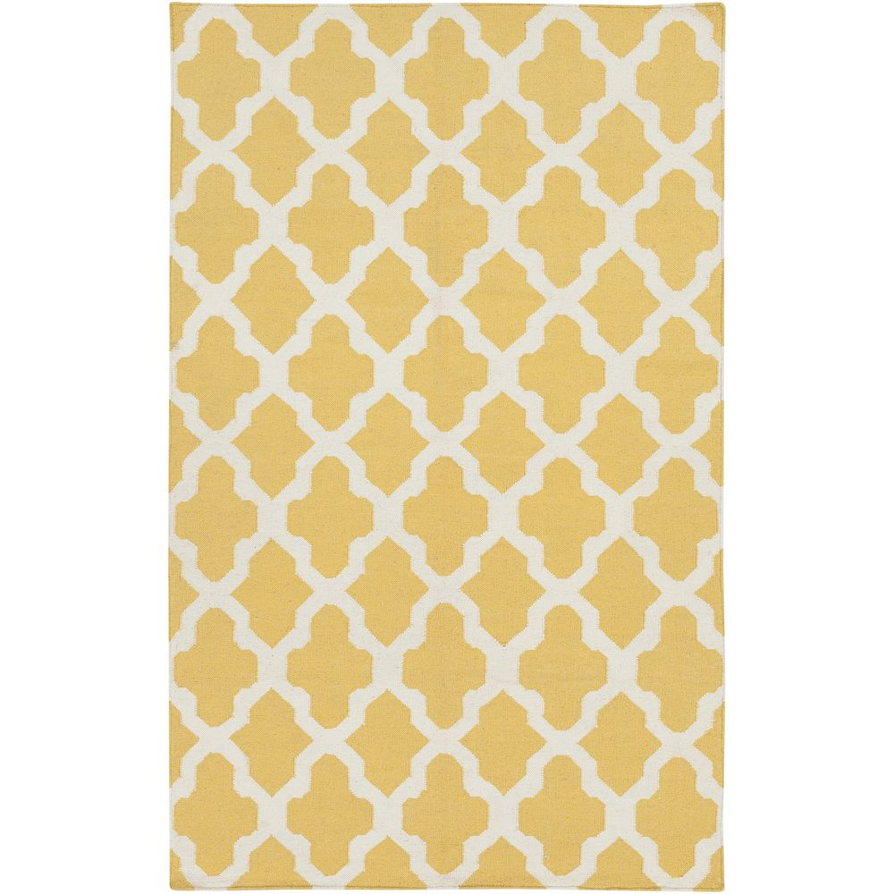 Artistic Weavers Carpette d'intérieur, 9 pi x 10 pi, style contemporain, rectangulaire, jaune York Olivia