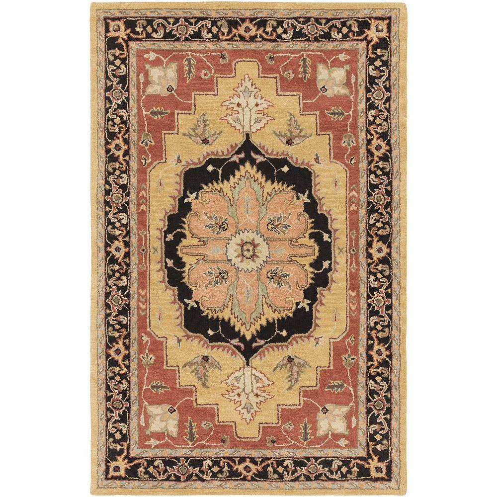 Artistic Weavers Middleton Mia Orange 8 ft. x 11 ft. Indoor Traditional Rectangular Area Rug