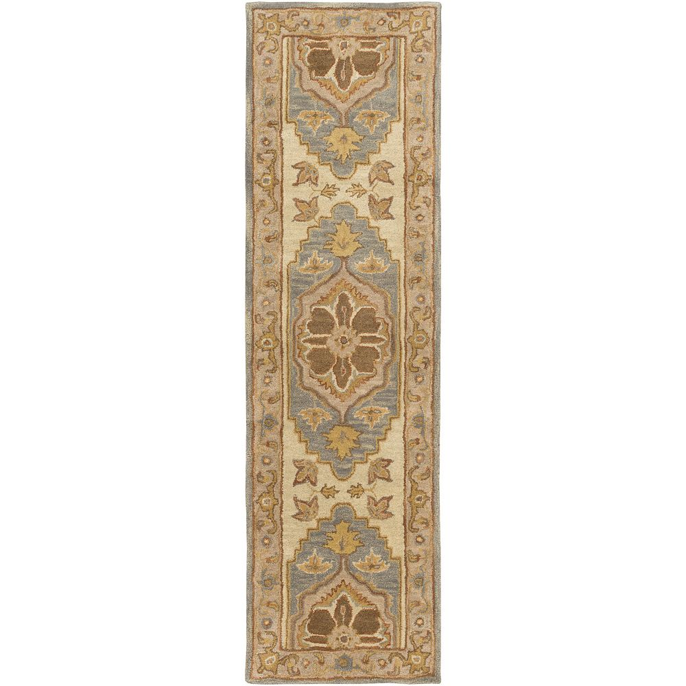 Artistic Weavers Middleton Mia Beige Tan 2 ft. 3-inch x 8 ft. Indoor Traditional Runner