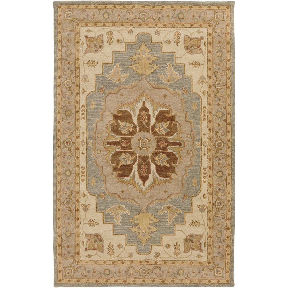 Artistic Weavers Middleton Mia Brown 5 ft. x 8 ft. Indoor Traditional Rectangular Area Rug