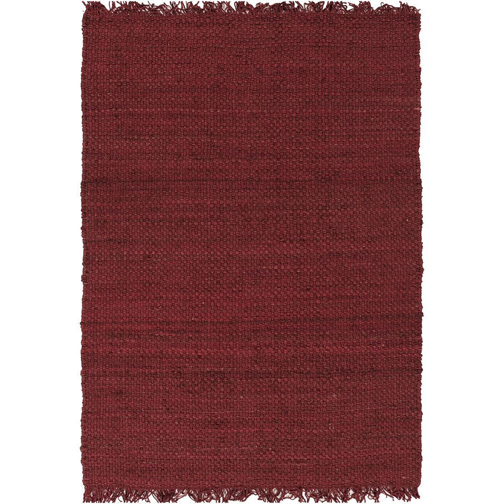 Artistic Weavers Tropica Harper Red 8 ft. x 10 ft. Indoor Contemporary Rectangular Area Rug