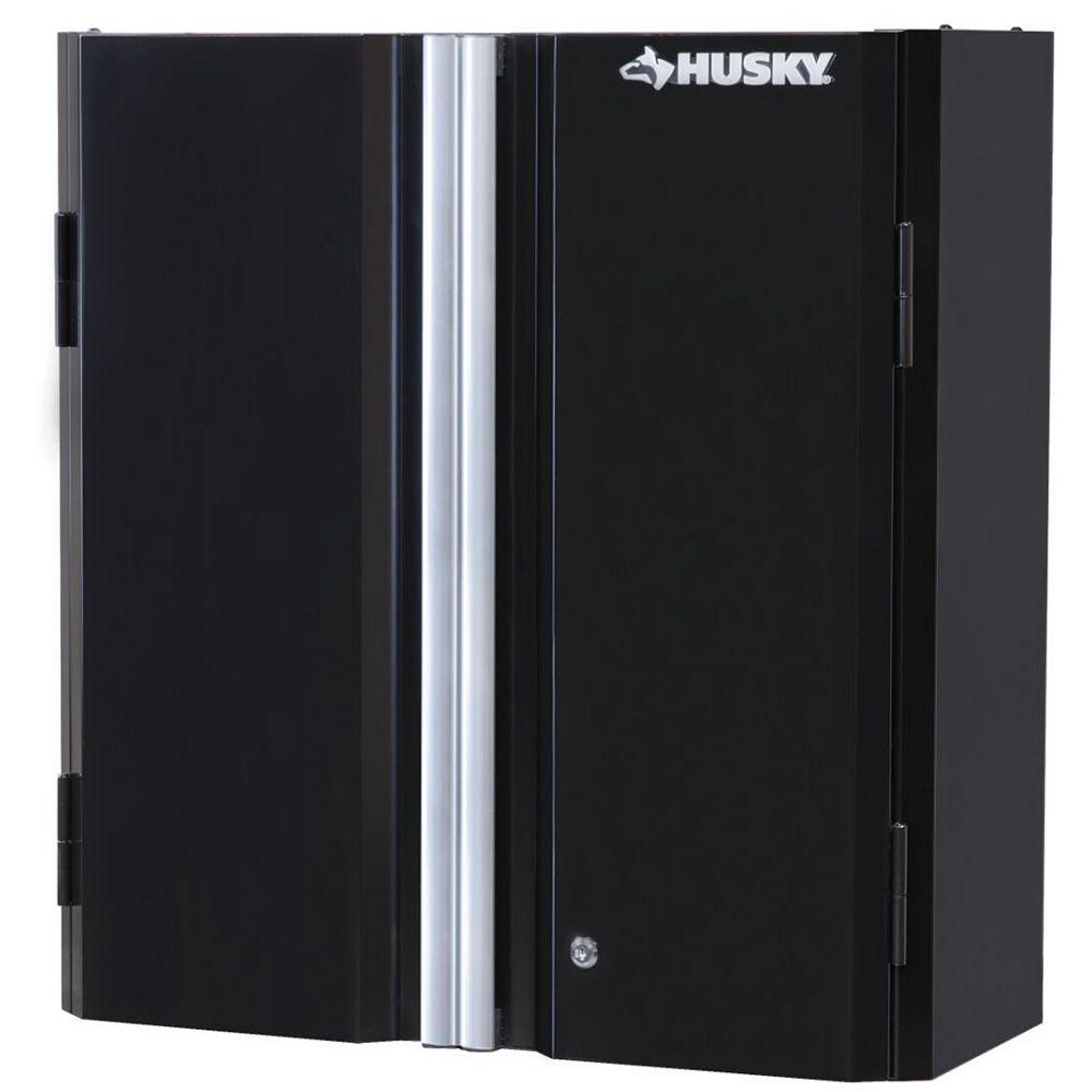 Husky 29-inch H x 28-inch W x 12-inch D Steel Garage Wall Cabinet