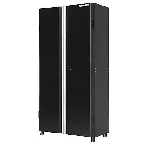 36-inch Tall 2-Door Garage/Workshop Cabinet in Black
