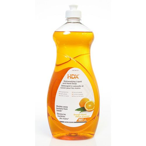 Dishwashing Liquid & Hand Soap  (Orange Scent)