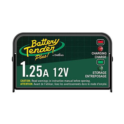 Battery Tender Plus 12V 1.25 A Chargeur de Batterie
