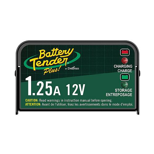 Plus 12V 1.25Amp Battery Charger