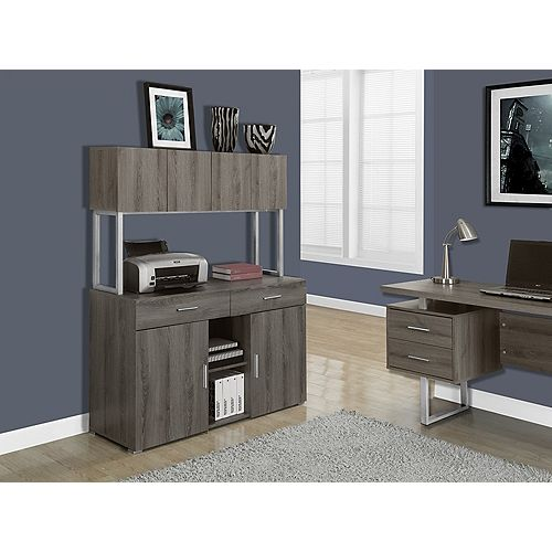 Manufactured Wood Desk in Grey