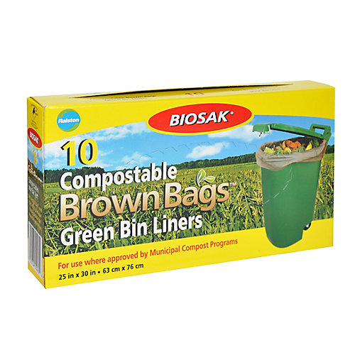 Sacs Compostables pour Bac Vert