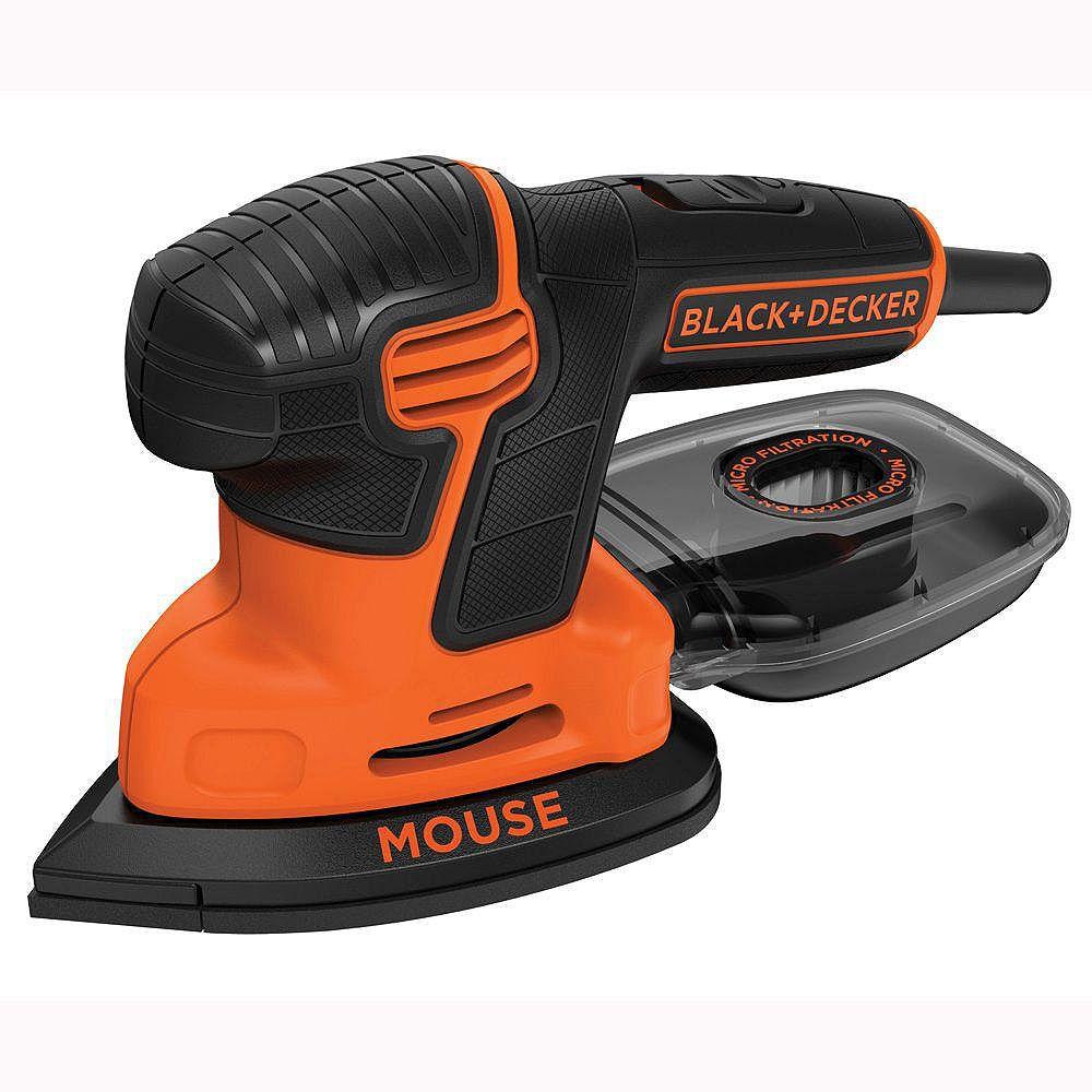 BLACK+DECKER 1.2 Amp Corded Detail Mouse Sander