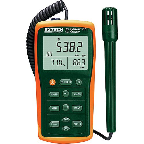 Extech Instruments Easyview Indoor Air Quality Meter/Datalogger