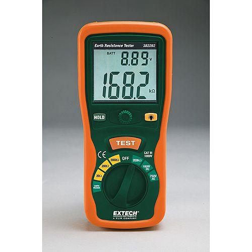Extech Instruments Earth Ground Resistance Tester Kit