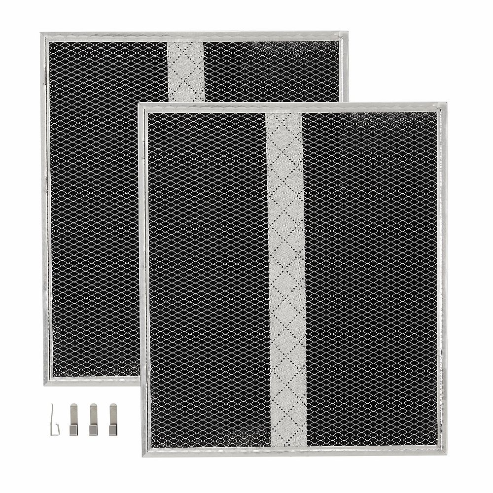 Broan-NuTone Ductless Charcoal Replacement Filters for 30-inch Broan-NuTone Range Hoods (2-pack)