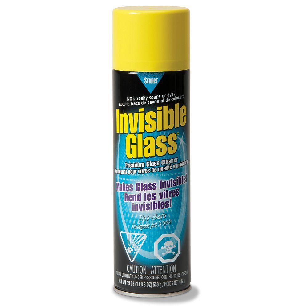 Invisible Glass Premium Glass Cleaner - 19oz Aerosol Spray