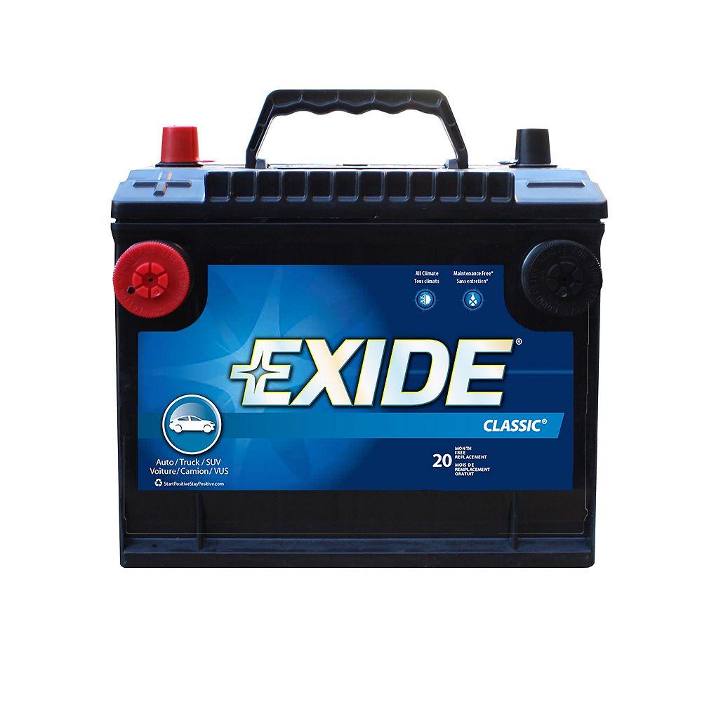 Exide Classic Automotive Battery - Group 75dt