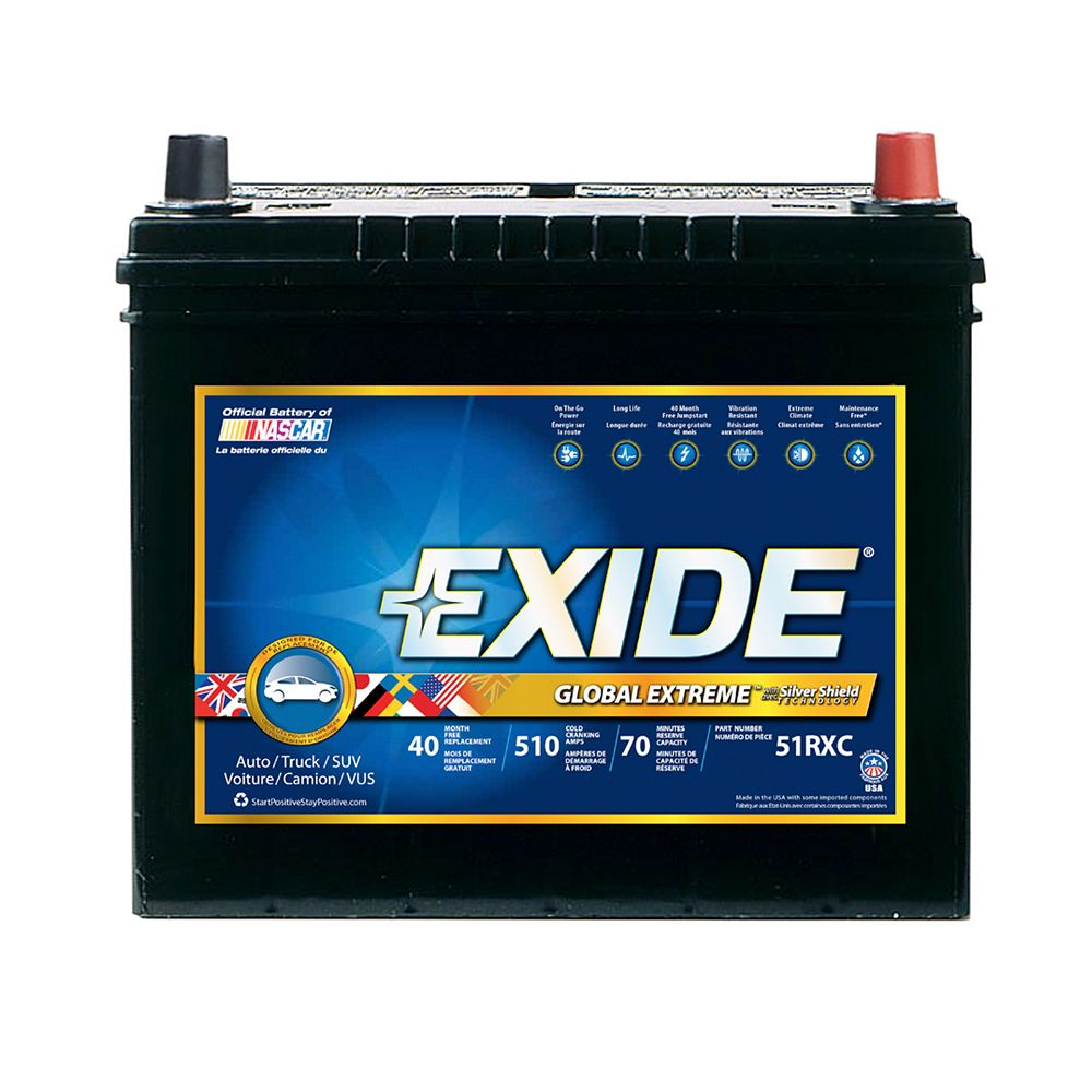 Exide Exide Extreme Gr 51R
