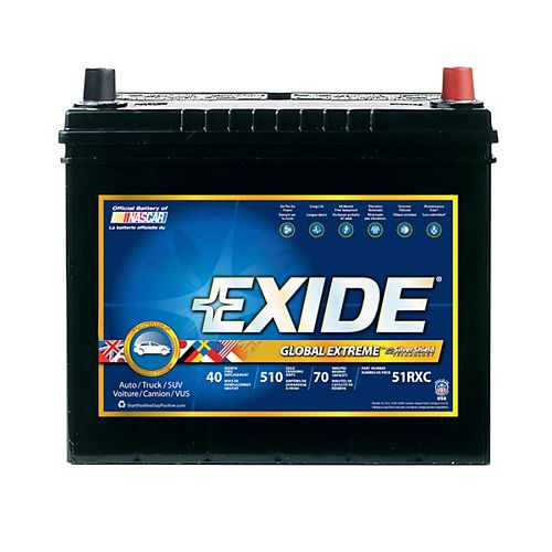 Extreme Automotive Battery - Group 51r