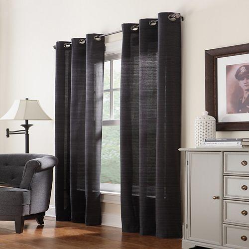 Panneau à œillets, noir, 42 x 95