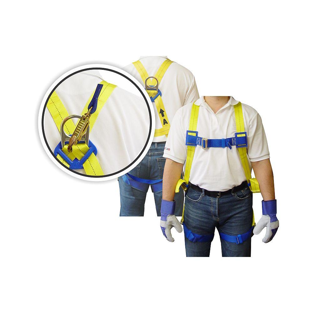 Workhorse Full Body Harness - 6 Feet Lanyard