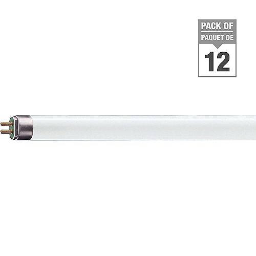 Philips 13W T5 21-inch Soft White Fluorescent Light Bulb (12-Pack)