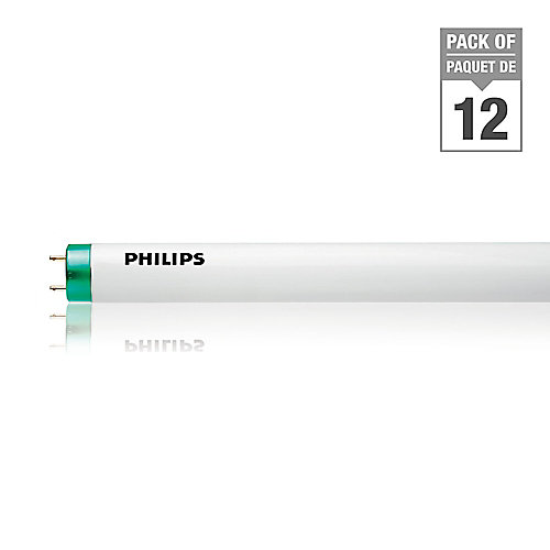 21W T5 34-inch Soft White Fluorescent Light Bulb (12-Pack)